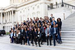 Symposium takes students to nation's capital for an inside look at the lives of public servants