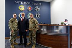 Liberty unveils expanded Veterans Center for Military Emphasis Week