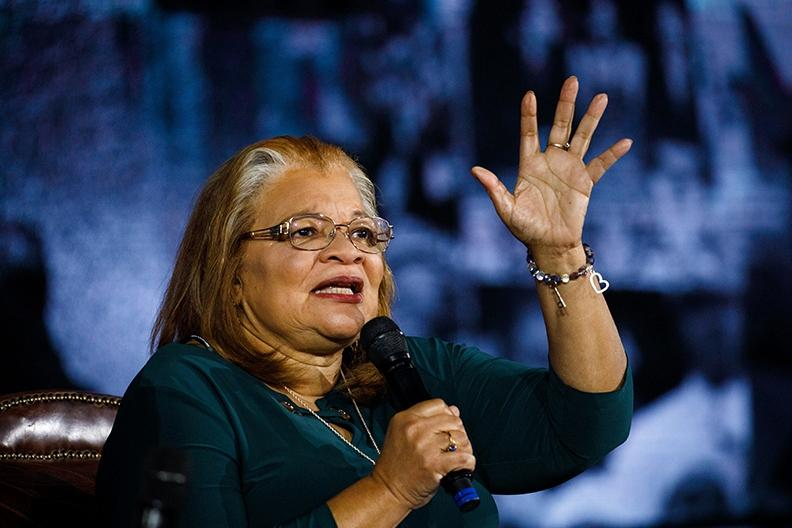 Niece of Martin Luther King Jr. welcomed to Liberty Convocation