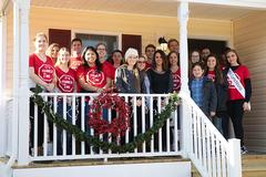 Habitat for Humanity Club dedicates third house, receives $20,000 grant for fourth