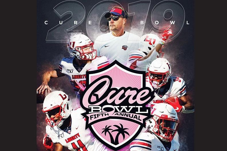 Flames Football Florida-bound for first-ever bowl appearance, will take on Georgia Southern in Cure Bowl Dec. 21