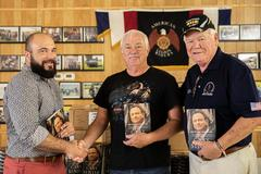 Liberty donates 500 autographed Gary Sinise books to area veterans