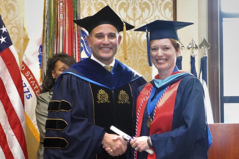 Liberty University Academic Calendar >> Military graduates receive degrees at Army base ceremony ...