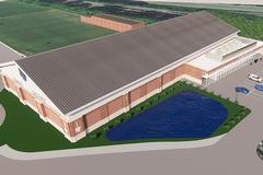 Work underway on new indoor tennis facility slated to open in the new year