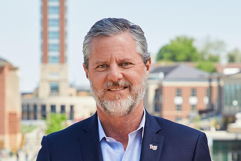 President Jerry Falwell appears on PBS NewsHour to address free speech on college campuses