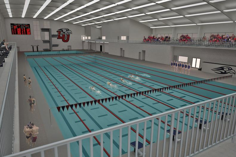 Liberty Announces Olympic Sized Pool Addition To Indoor