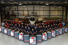 Piedmont Airlines toolbox donation supports Liberty's growing aviation maintenance program
