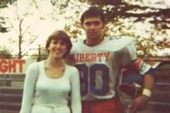 Liberty's first football player to turn pro reaches Canada's sporting realm for Christ
