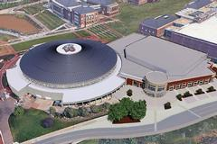 Vines Center to receive new roof in conjunction with Liberty Arena project