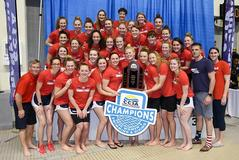 Lady Flames' swimmers and divers defend CCSA titles in Tennessee