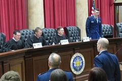Liberty Law hosts Air Force Court trial, gives students an active role in the courtroom
