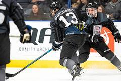 Hockey showdown: No. 2 LU beats No. 1 Adrian in first game of weekend series