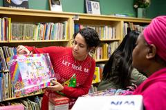 Student-doctors give back with annual Christmas event for families