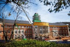 Sneak peek: School of Business building nears completion