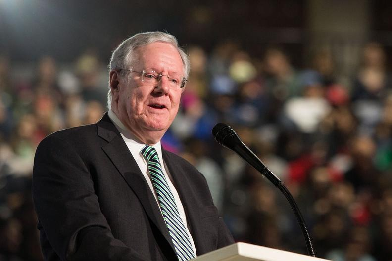 Stevenson University Tuition >> Forbes CEO discusses the virtues of capitalism   Liberty University
