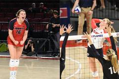 Two volleyball players to try out for Team USA