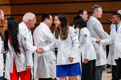 LUCOM welcomes new class of medical students at annual White Coat Ceremony