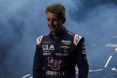 LU-sponsored NASCAR driver William Byron earns pole position for Daytona 500